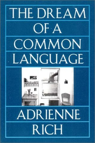 Dream of a Common Language Poems, 1974-1977  1980 edition cover