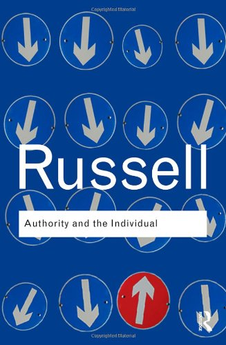 Authority and the Individual   2009 9780415487337 Front Cover
