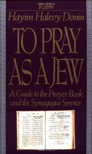 To Pray As a Jew A Guide to the Prayer Book and the Synagogue Service N/A edition cover