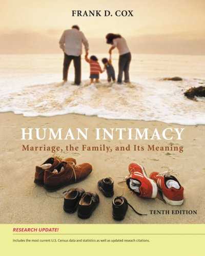 Human Intimacy Marriage, the Family and Its Meaning 10th 2009 (Revised) edition cover
