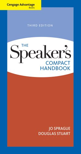 Speaker's Compact Handbook  3rd 2012 edition cover