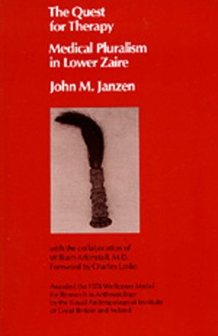 Quest for Therapy in Lower Zaire  N/A edition cover