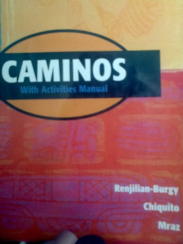 Caminos Student Text with Audiocassette 2nd 2002 (Student Manual, Study Guide, etc.) 9780618143337 Front Cover