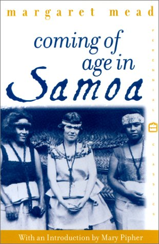 Coming of Age in Samoa A Psychological Study of Primitive Youth for Western Civilisation  2001 edition cover