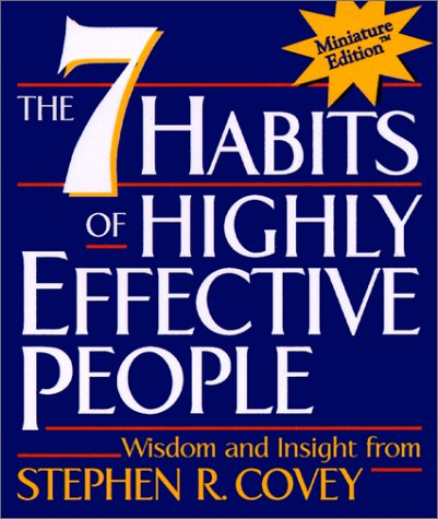 Seven Habits of Highly Effective People   1989 edition cover