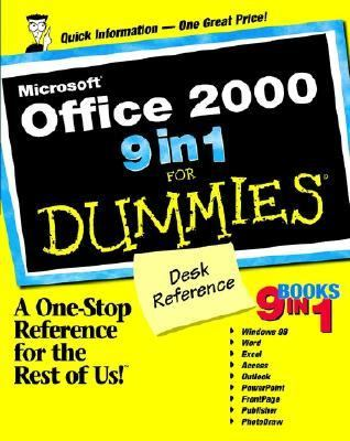 Microsoft� Office 2000 9 in 1 for Dummies�   1999 9780764503337 Front Cover