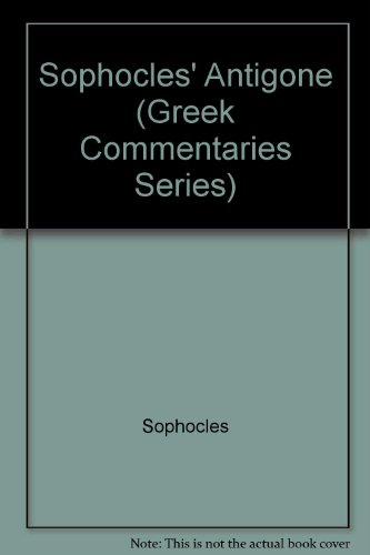 Sophocles' Antigone  N/A edition cover