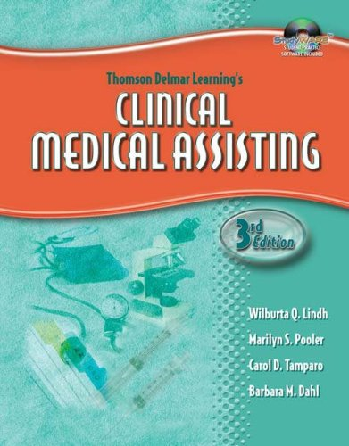 Clinical Medical Assisting  3rd 2006 (Workbook) 9781401881337 Front Cover