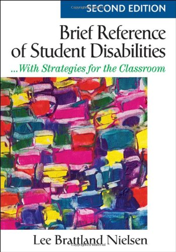 Brief Reference of Student Disabilites ... With Strategies for the Classroom 2nd 2009 edition cover