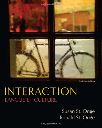 Interaction Langue et Culture 8th 2011 edition cover