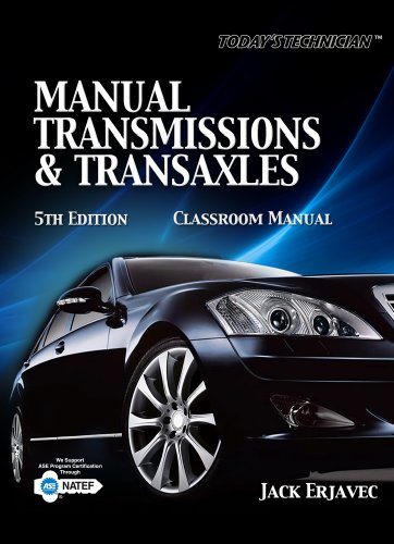 Manual Transmissions and Transaxles  5th 2011 edition cover