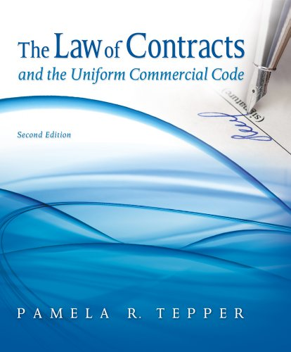 Law of Contracts and the Uniform Commercial Code  2nd 2012 edition cover