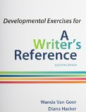 Developmental Exercises for a Writer's Reference:   2014 edition cover