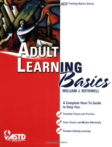 Adult Learning Basics   2008 edition cover