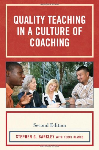Quality Teaching in a Culture of Coaching  2nd 2010 edition cover
