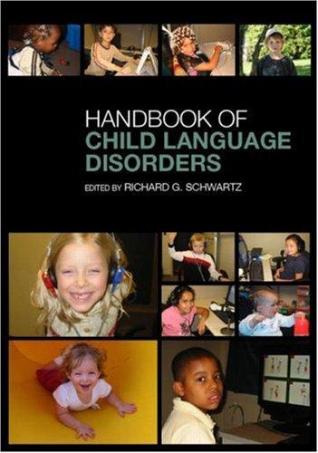 Handbook of Child Language Disorders   2009 (Handbook (Instructor's)) edition cover