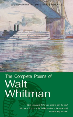 Complete Poems of Walt Whitman   2004 edition cover