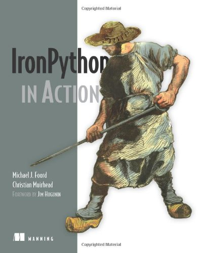 Iron Python in Action   2008 9781933988337 Front Cover