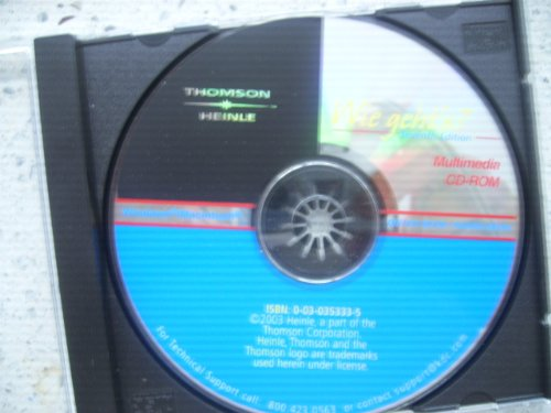 Wie Geht's 7e-Multimedia Cd-Rom  7th 2003 9780030353338 Front Cover