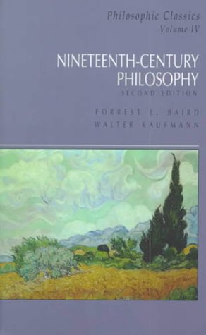 Nineteenth Century Philosophy  2nd 2000 edition cover