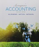 Horngren's Accounting + Myaccountinglab With Pearson Etext Access Card:   2015 edition cover