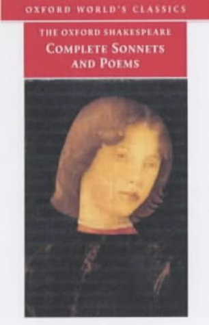 Complete Sonnets and Poems   2002 9780192819338 Front Cover