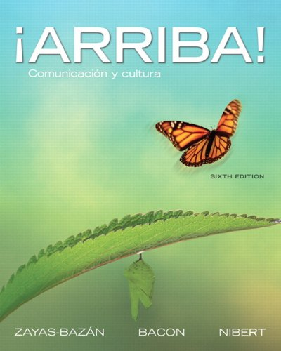 �Arriba! Comunicaci�n y Cultura 6th 2012 edition cover