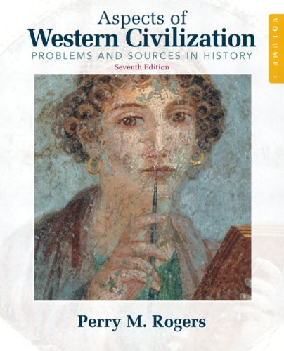 Aspects of Western Civilizations Problems and Sources in History 7th 2011 edition cover