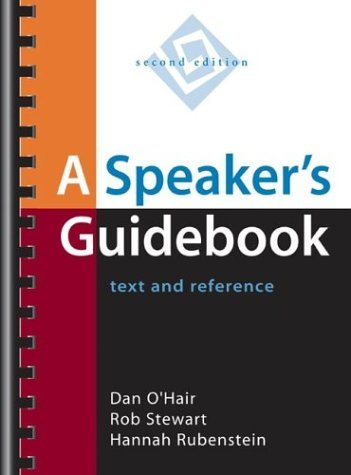 Speaker's Guidebook : Text and Reference 2nd 2004 edition cover