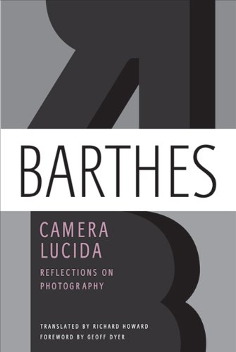 Camera Lucida Reflections on Photography  2010 edition cover