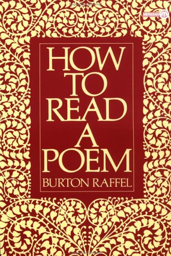 How to Read a Poem   1984 edition cover