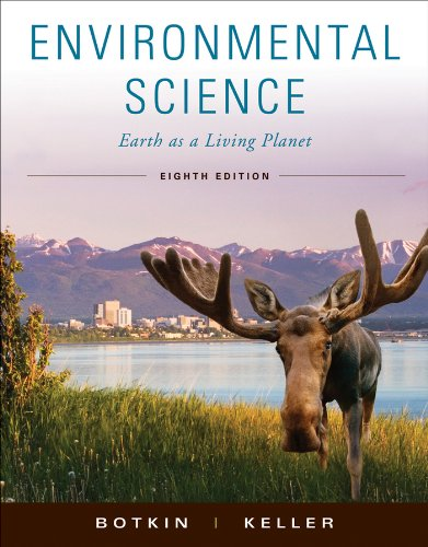 Environmental Science Earth as a Living Planet 8th 2011 edition cover