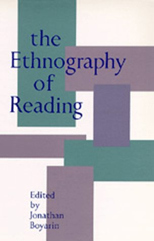 Ethnography of Reading   1993 edition cover