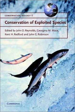 Conservation of Exploited Species   2001 9780521787338 Front Cover