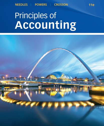 Principles of Accounting and Principles of Financial Accounting  11th 9780538451338 Front Cover