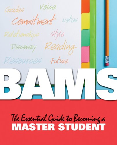 BAMS The Essential Guide to Becoming a Master Student  2010 9780547192338 Front Cover