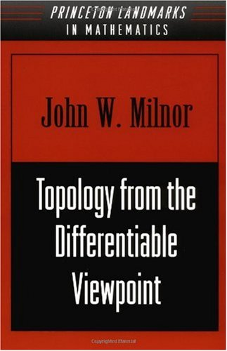 Topology from the Differentiable Viewpoint   1998 edition cover