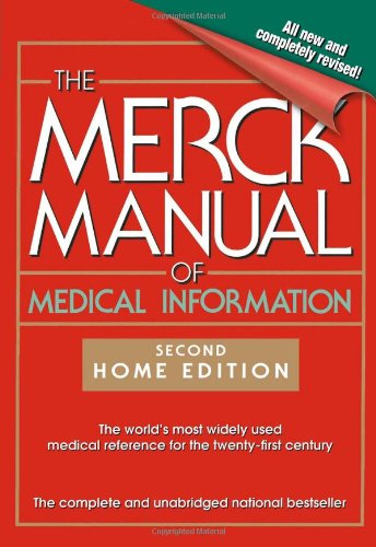 Merck Manual of Medical Information  2nd 2003 (Revised) edition cover