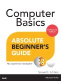 Computer Basics - Absolute Beginner's Guide  7th 2014 edition cover
