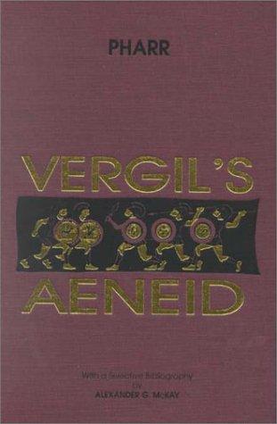 Vergil's Aeneid  Reprint edition cover