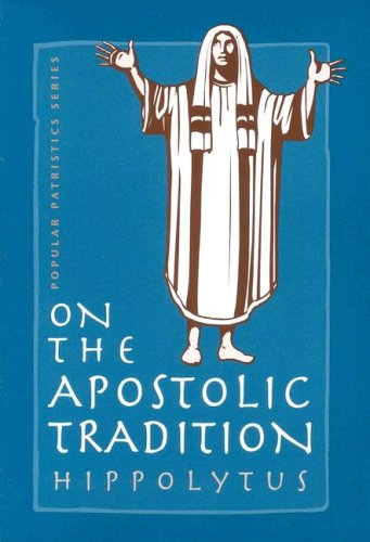 On the Apostolic Tradition  2001 edition cover