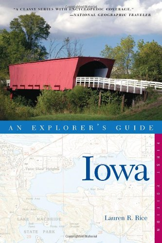 Exploreres Guide Iowa  N/A 9780881508338 Front Cover