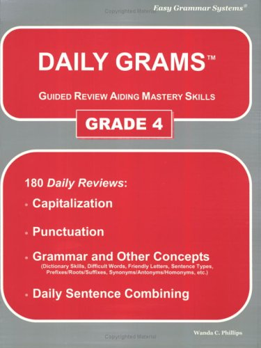 Daily Grams Grade 4 N/A edition cover