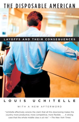 Disposable American Layoffs and Their Consequences Annotated edition cover