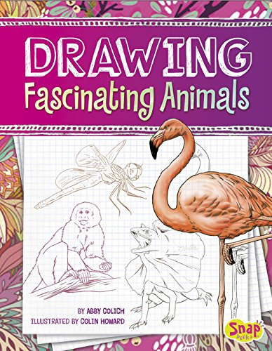 Drawing Fascinating Animals   2015 9781491421338 Front Cover