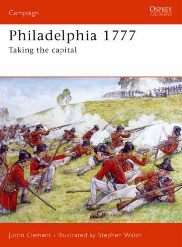 Philadelphia 1777 Taking the Capital  2007 edition cover