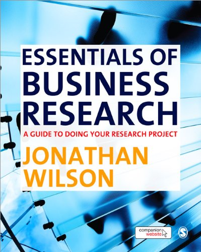 Essentials of Business Research A Guide to Doing Your Research Project  2010 edition cover