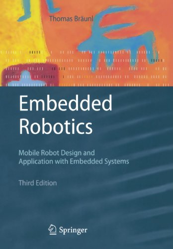 Embedded Robotics Mobile Robot Design and Applications with Embedded Systems 3rd 2008 edition cover