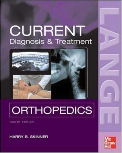 Diagnosis and Treatment in Orthopedics  4th 2006 (Revised) edition cover