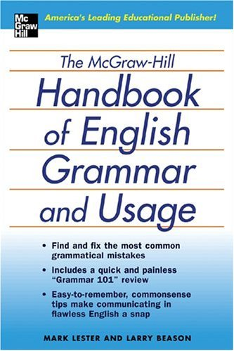 English Grammar and Usage The Comprehensive and Commonsense Guide to Flawless English  2005 edition cover